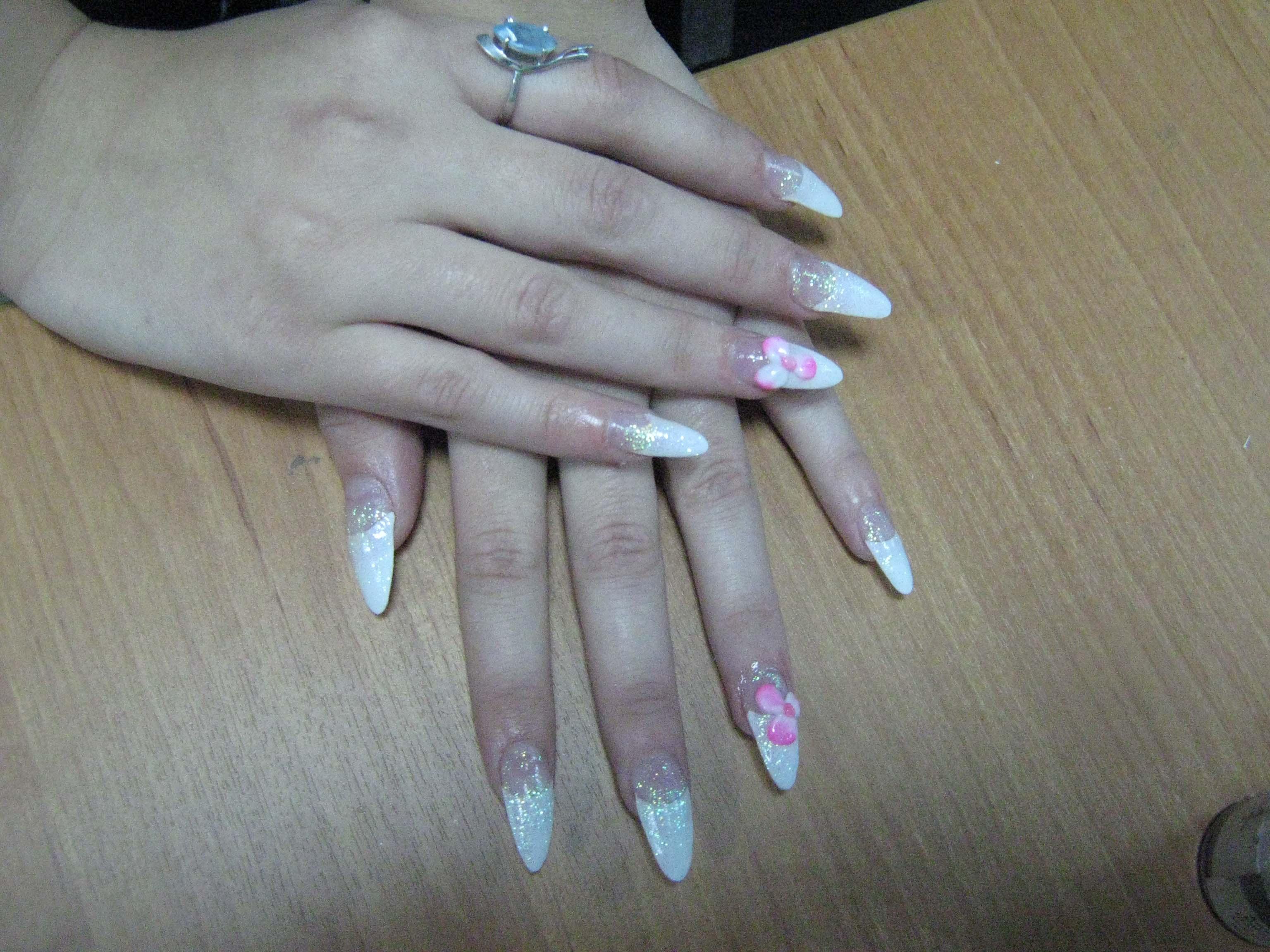 Ногти нарощенные как своими руками