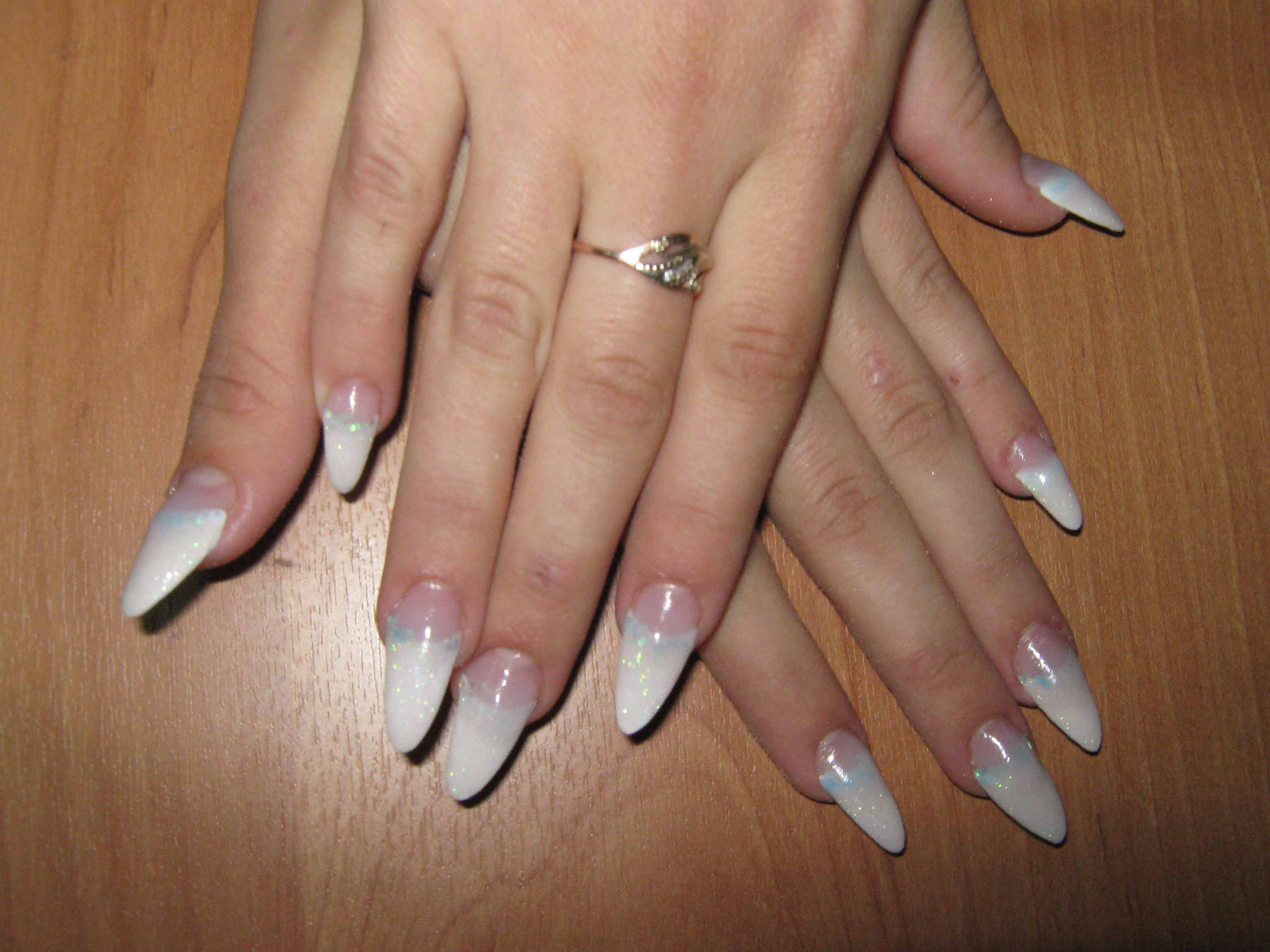 Нарощенные ногти толщина фото